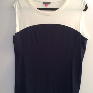 Vince Camuto  sleeveless knit top.